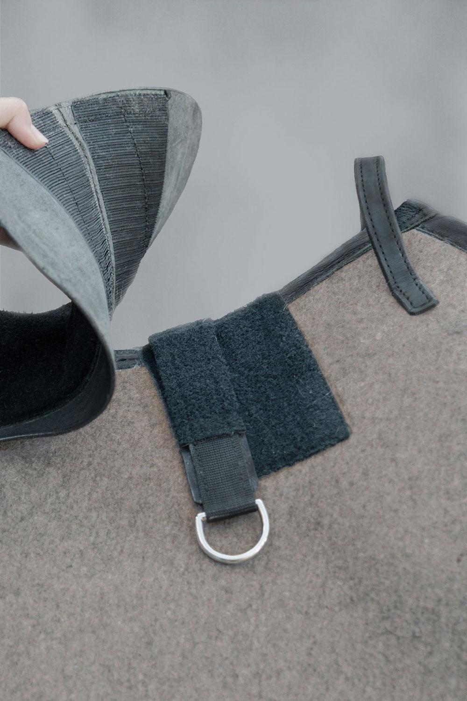 Felt saddle - La Selle Sattelmanufaktur